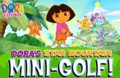 Dora au mini golf