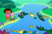 Dora, babouche et la rivière aux crocodiles