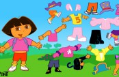 Dora déguisement fun