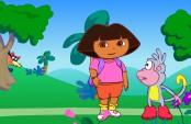 Dora et babouche explore la forêt