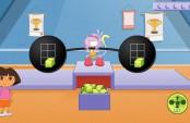 Dora et babouche jeu de la barre