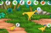 Dora et diego dressent des dinosaures