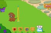 Dora et le dressage de chien