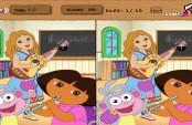 Dora et le jeu des différences