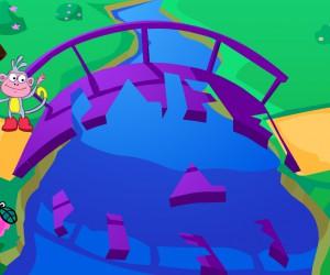 Jeu dora et le pont en puzzle gratuit - Jeux dora et diego ...