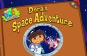 Dora s'amuse dans l'espace