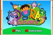 Jeu de Dora qui t'apprends l'anglais