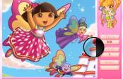 Jeu des nombres cachés de Dora