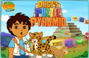 Puzzle diego contre la pyramide