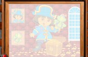 Puzzle Dora en pirate