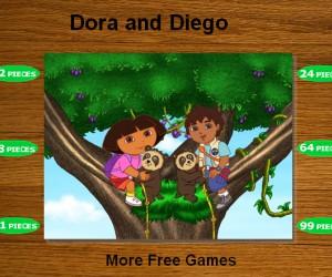 Jeu puzzle dora et diego gratuit - Jeux dora l exploratrice gratuit ...