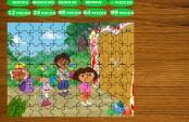 Puzzle Dora et ses amis
