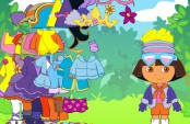 Transforme Dora  l'exploratrice